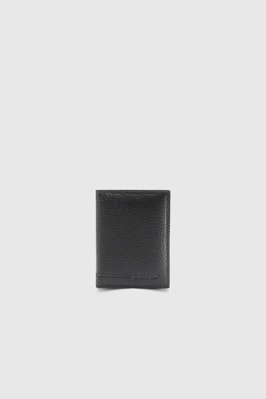 Guard - Gerçek Deri Şeffaf Siyah Kredi Kartlık