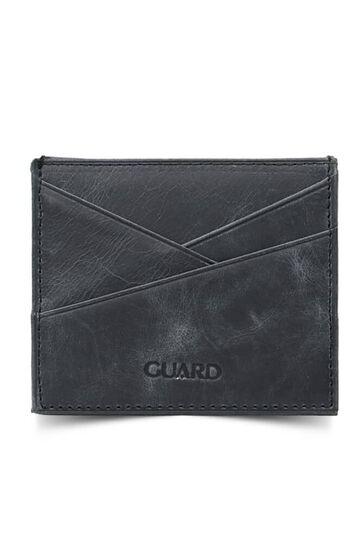 Guard Antik Siyah Deri Kartlık - Thumbnail