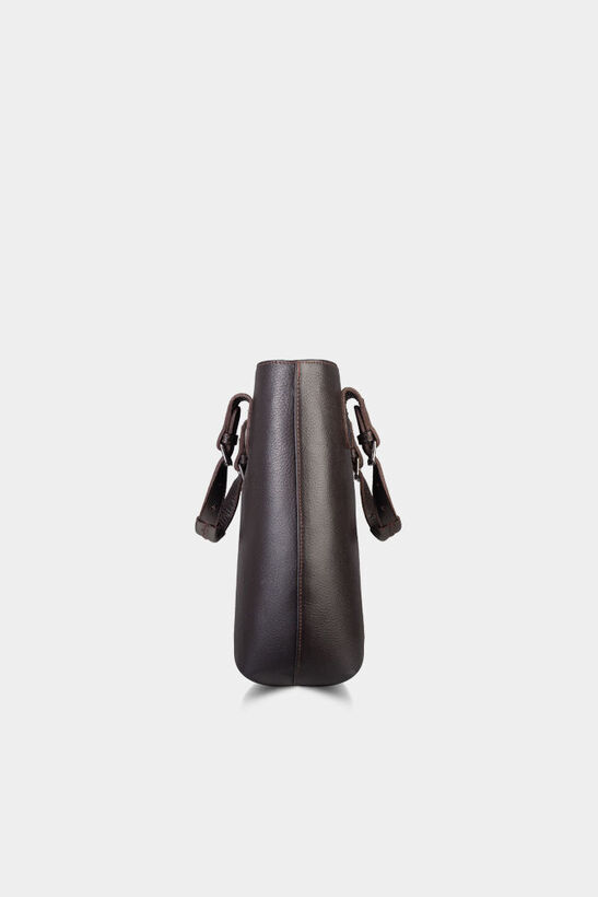 Kahverengi Deri Bayan Kol Ve Omuz Çantası