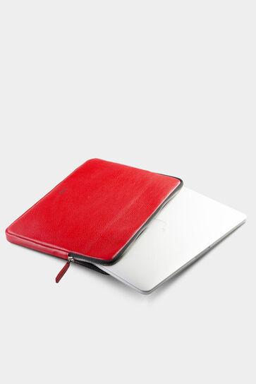 Guard Kırmızı Deri Clutch Çanta - Thumbnail
