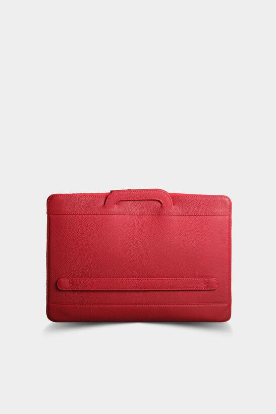 Guard - Guard Kırmızı Deri Evrak ve Laptop Çantası (1)