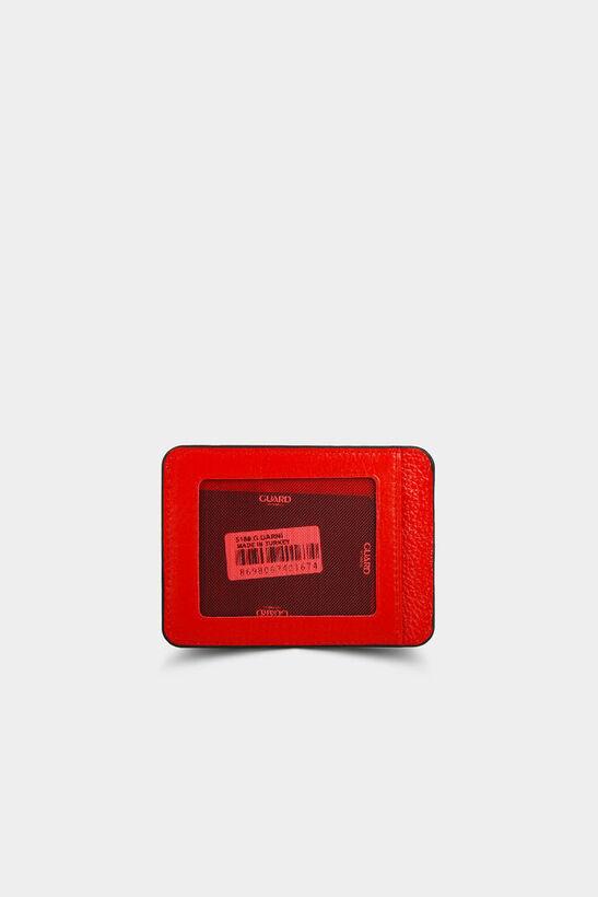 Guard - Guard Kırmızı Deri Kartlık (1)