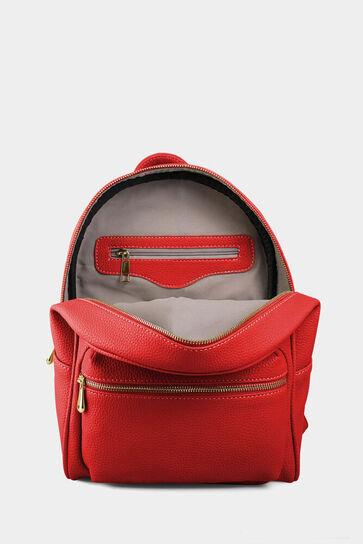 Kırmızı Kadın Sırt Çantası - Thumbnail