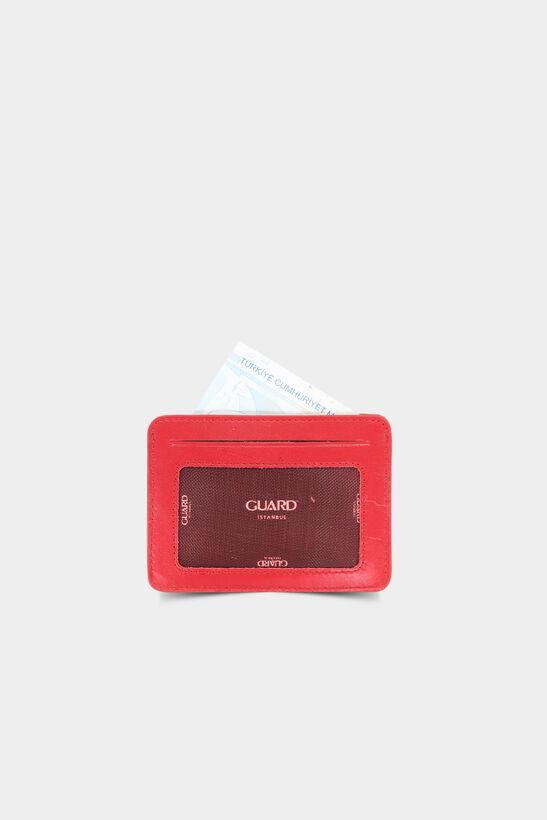 Diga - Diga Kırmızı Yatay Deri Kartlık / Kartvizitlik (1)