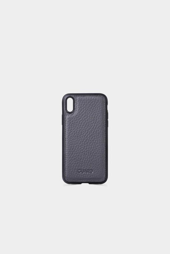 Guard - Mat Siyah Deri iPhone X Kılıfı