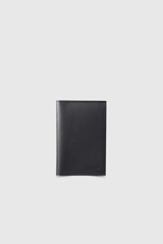 Guard - Siyah Pasaport Kılıfı