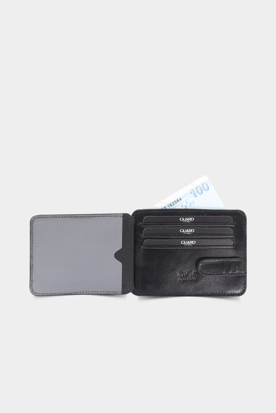 Diga - Diga Siyah Yatay Deri Kartlık / Kartvizitlik (1)