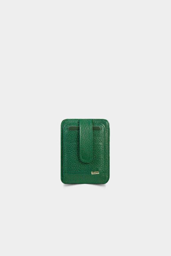 Guard - Yeşil Deri Kartlık