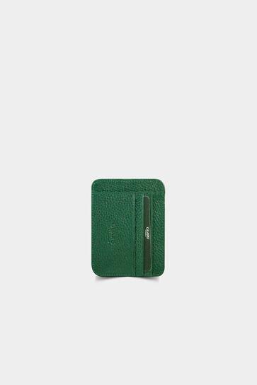 Yeşil Deri Kartlık - Thumbnail